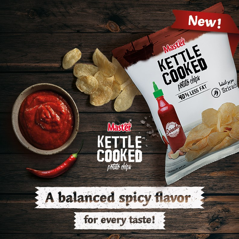 Kettle Sriracha Launch